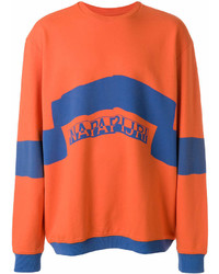 Napa By Martine Rose Logo Print Sweatshirt