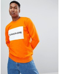 Calvin Klein Jeans Sweatshirt Box Logo Tiger