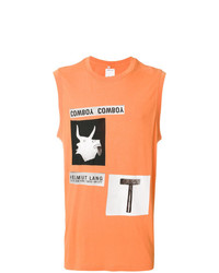 Helmut Lang X Travis Scott Cowboy Collage Print Tank