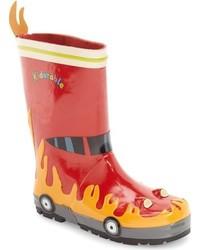 Kidorable Fireman Waterproof Rain Boot