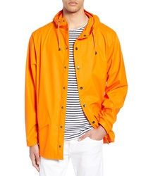 Orange Raincoat
