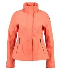 Icepeak Lana Outdoor Jacket Dunkel Orange
