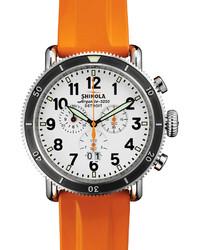 Orange Rubber Watch