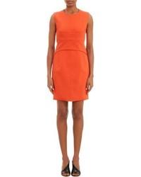 Orange Sheath Dress