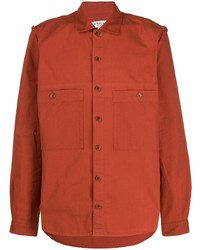 YMC Textured Double Pocket Shirt