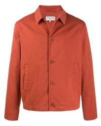 YMC Textured Style Buttoned Shirt