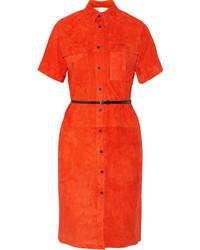 Victoria suede shirt dress medium 245261