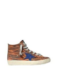 Orange Shoes