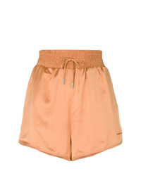 Off-White Satin Shorts
