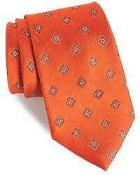Nordstrom Shop Bright Neat Silk Tie