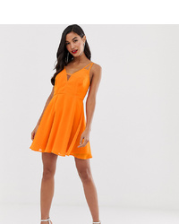 ASOS DESIGN Mini Dress With Cami S And Cut Out Detail