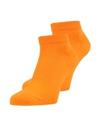 2 pack socks orange medium 4161073
