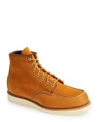 Red wing suede moc toe boot medium 119690