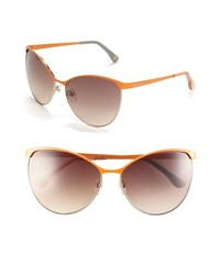 MICHAEL Michael Kors Michl Michl Kors 62mm Retro Sunglasses Orange One Size
