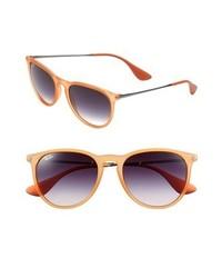 Ray-Ban Wayfarer 54mm Sunglasses Orange One Size