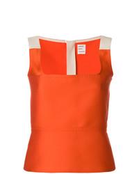 Maison Rabih Kayrouz Colour Block Fitted Vest Top