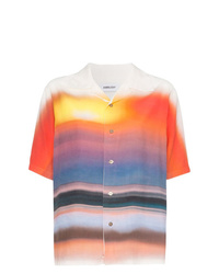 Ambush Hawaiian Tie Dye Short Sleeved Shirt