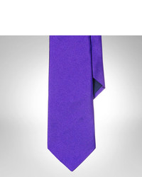 Polo Ralph Lauren Bright Solid Silk Repp Tie
