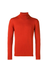 Nuur Ribbed Roll Neck Fitted Sweater