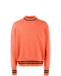 Marni Stripe Border Turtleneck Sweater