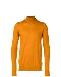 Paolo Pecora Turtle Neck Fitted Sweater