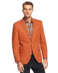 Orange Wool Blazer