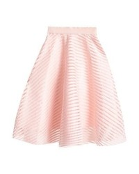 New Look A Line Skirt Nude