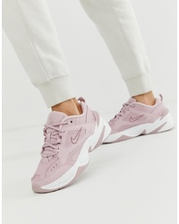 Nike M2k Tekno Trainers In Pink