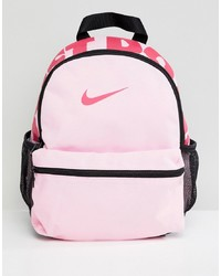 Nike Pink Just Do It Logo Mini Backpack