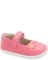See Kai Run Infant Girls Aviva Leather Mary Jane