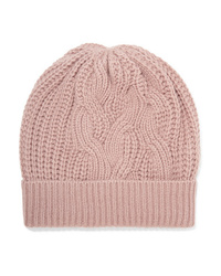 Johnstons of Elgin Cable Knit Cashmere Beanie