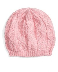 Toddler Girls Tucker Tate Cable Knit Beanie Pink