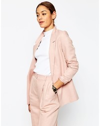 Asos Collection Premium Linen Clean Suit Blazer
