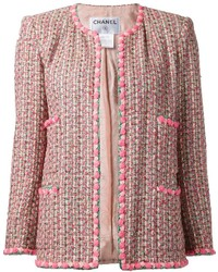 Chanel Vintage Boucl Knit Jacket