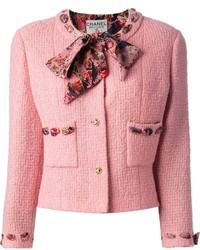 Vintage boucle jacket and skirt suit medium 167034