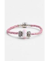 Pandora Breast Cancer Awareness Charm Bracelet Set