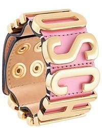 Moschino Logo Plaque Bracelet