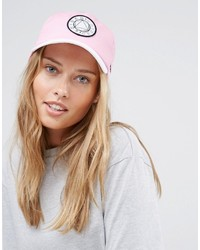 Asos Baseball Cap With Woven Front Badge