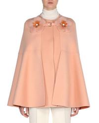 Pink Cape Coat