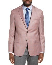 Pink Check Blazer