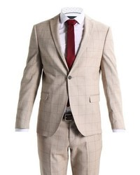Shxzero tadwick suit beigecamel medium 4163379