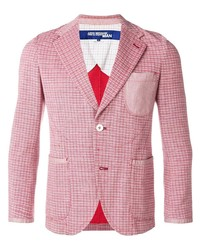 Junya Watanabe Comme des Garçons Pre-Owned Stitch Checked Blazer