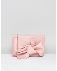 Missguided Bow Clutch Bag