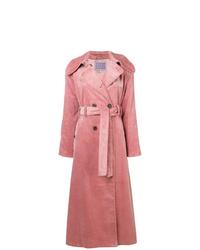 Alexa Chung Double Breasted Corduroy Coat