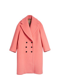 Double faced wool cashmere cocoon coat medium 7816533