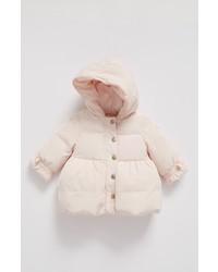 Armani Junior Infant Girls Down Puffer Coat