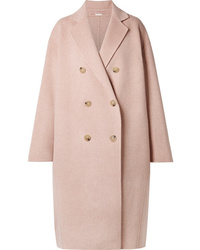 Acne Studios Odethe Oversized Wool And Cashmere Blend Coat