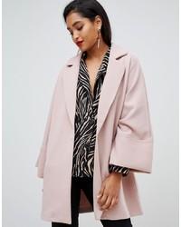 Vila Oversized Coat With Wide Sleeves