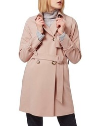 Topshop Tailored Double Breasted Coat