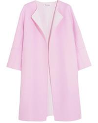 Two tone cashmere coat baby pink medium 1139923